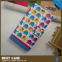 Newest fashion wallet leather case for MOTO X PLAY flip stand cover