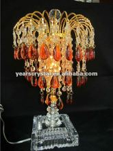 2012 new crystal table lamp (R-1087