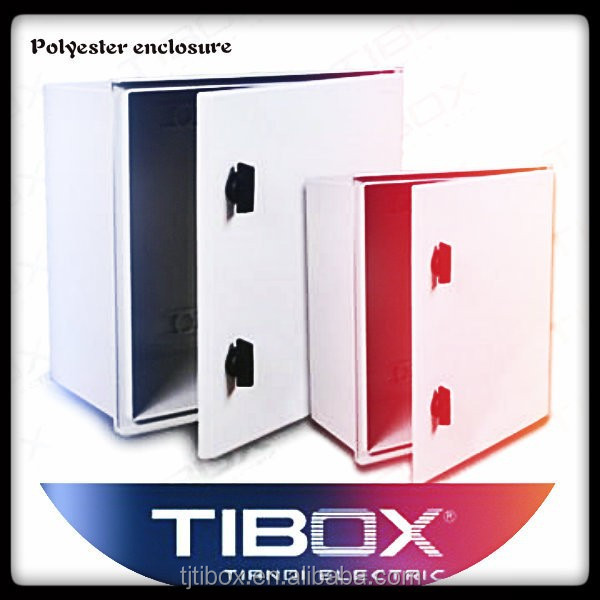 2015 new hinged waterproof fiberglass enclosure box IP66&IK8