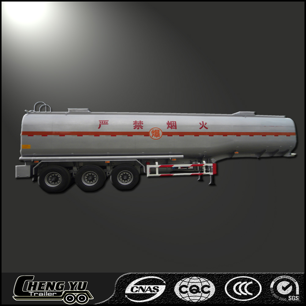 Petrol transport truck trailer oil tanker semi trailer