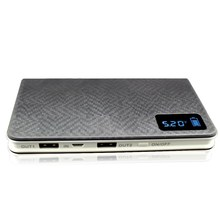 new design universal 12000mah portable mobile power bank