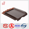 FT-853 Export quality barbados flat clay roofing tiles