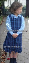 Wholesale customised pinafore primary school uniform