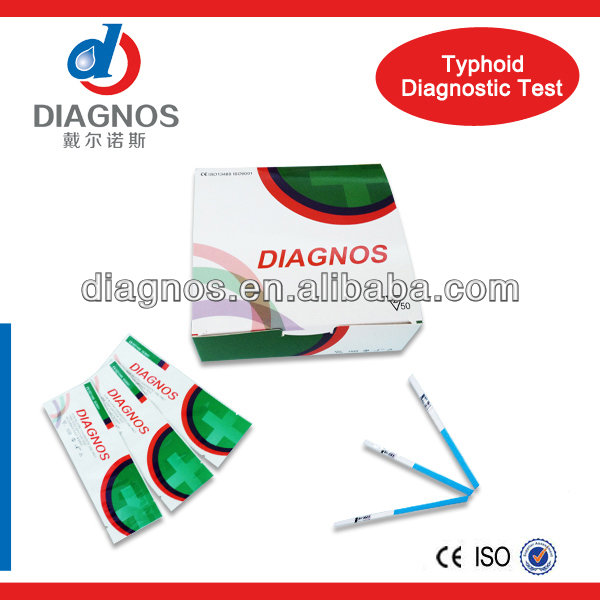Infectious Disease Test Typhoid IgG/IgM Rapid HomeTest Kit