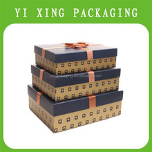 hard recycled small gift packaging paper boxes