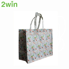 Promotional Good Quality Cheap Latest Standard Folding PP Woven Shopping Bag