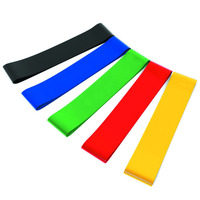 Fitness Elastic band / 100% Natural Latex exercise Resistance Loop Bands for Stretching