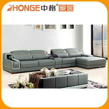 European Style Factory Direct Full Grain Genuine Artistic Leather Sofa