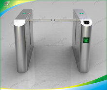 Electronic Security Security Access Waist Height Turnstiles IR Sensor Attendance Barrier