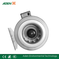 Metal round bathroom exhaust fan