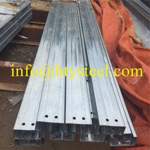Promotional galvanized steel C profile with competitive advantages