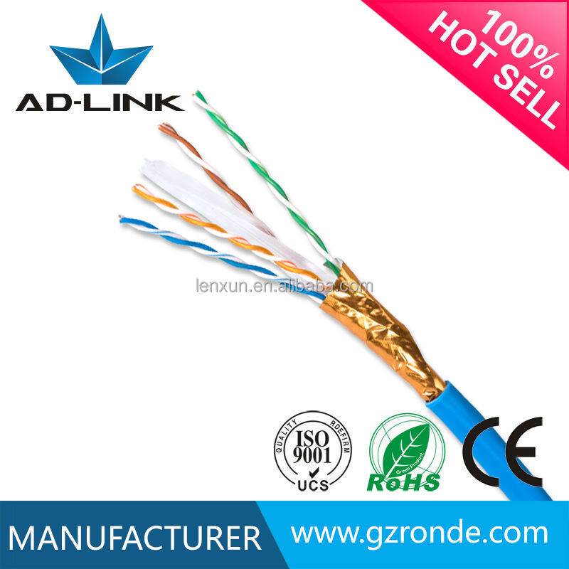Cat6 colored code for lan cable utp/ftp/sftp 4 pair