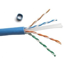 High speed 23AWG 4 pairs copper conductor PVC LSZH jacket indoor lan ethernet <strong>networking</strong> Cat6a UTP cable
