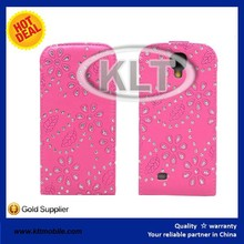 leather back cover for Samsung Galaxy s4 OEM colors leather case for Samsung phones factory direct offer