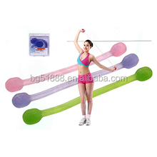 Fitness elastic exercise new silicone chest expander for lady