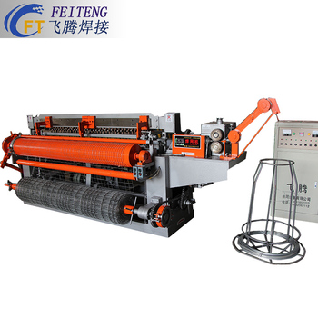 Low cost high energy fully automatic welded wire mesh machine