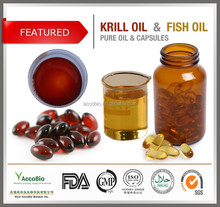 Top quality GMP Omega 3 Fish oil softgel Wholesale, Natural Pure Krill oil and fish oil capsules in bulk supply