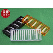 40mm acrylic poker chip tray,poker chip rack for 100pcs 40MM poker chip tray