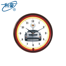 Best selling china small decorative LED Sign Luxury Wall Clock