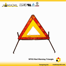 WT03 AS Reflector Iron Legs Warning Triangle Car Emergency Sign