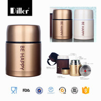 oem high quality stainless steel thermos food container smoldering pot