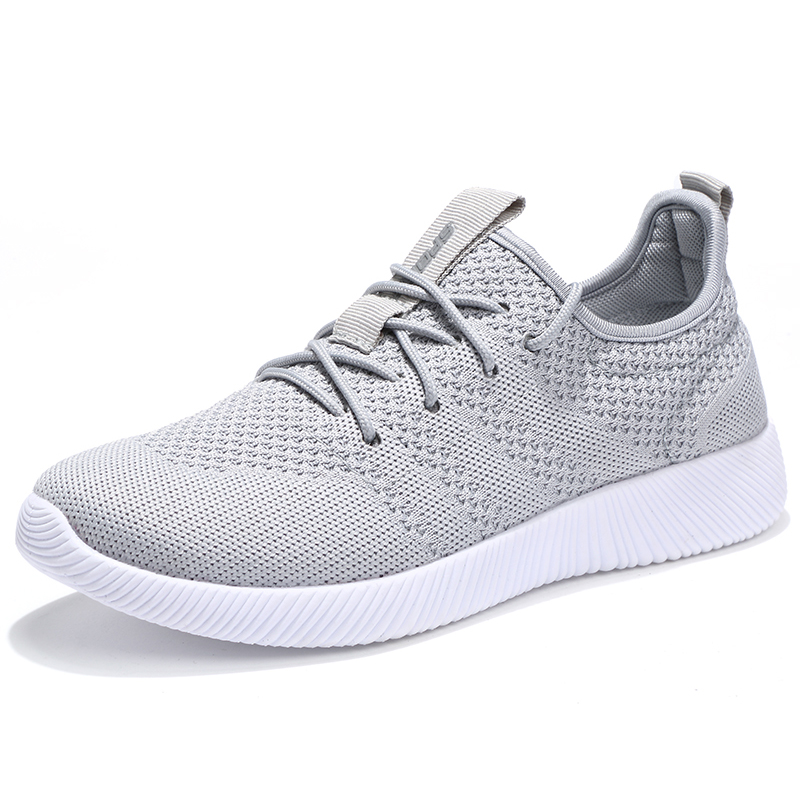 Men Women Fly Knitting Walking Shoes