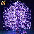 Color change led weeping willow tree lighting for garden decoration