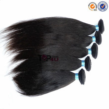 Wholesale virgin remy hair bulk real Peruvian straight hair in China