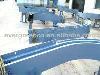 Transport Turning Conveyor Belt For Glass