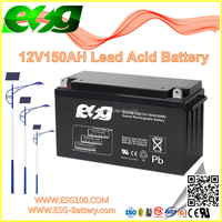 12V150AH New products Manufacture VRLA high rate AGM SLA MF Solar UPS sealed Lead Acid battery