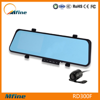 Best Selling Products In Japan Dual Camera Rearview Mirror Car DVR G-Sensor H.264 Separate HD Car DVR