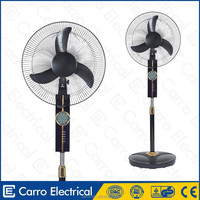 Popular 16 inch electric brushless motor powered stand fan household electric stand fan