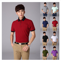 New Style Keep Fit Men's Polo Shirt High Quality Men Polo Pure Cotton Men's Polo