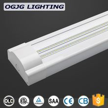 Office building Super Brightness hanging tube lamp stainless steel housing 50w 60w 80w 120w double led chips batten lighting