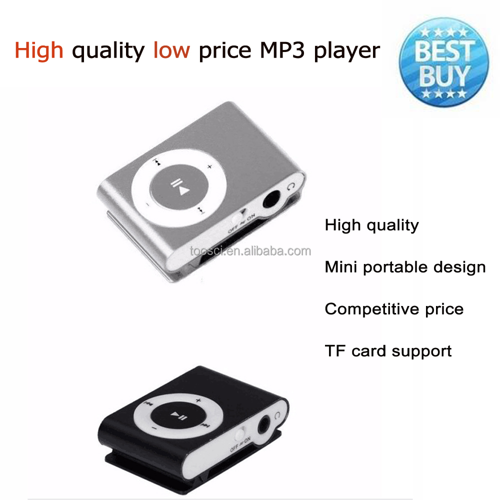 Digital Mini Clip High Speed USB2.0 Portable Audio MP3 <strong>player</strong> without SD Memory Card