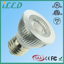 Aluminum Lamp Body Material 450lm PAR16 Medium Base E26 LED Dimmable Bright White 3000k