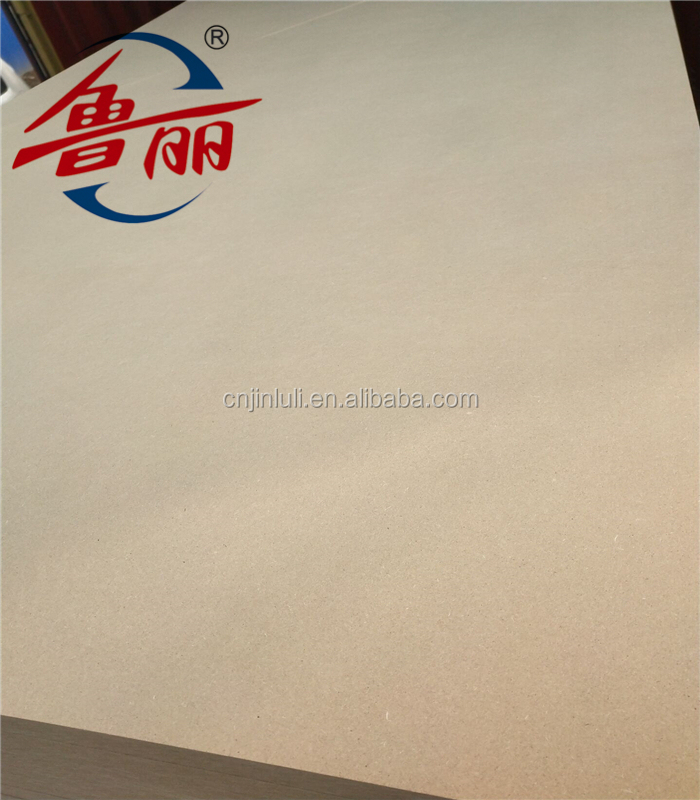 High quality18mm thickness plain MDF board from factory