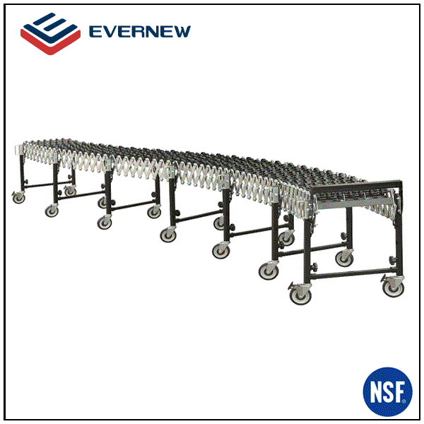 Stainless steel expandable flexible gravity roller conveyor manufacturer