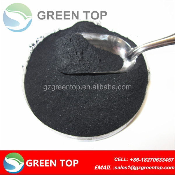 Powdered wood based activated charcoal for food grade