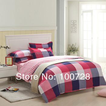 Bedsheet satin 2014New product Reactive printing design king size modern duvet cover set Bedding Set beijirong High Quality