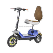 folding mobility scooter 350w handicapped tricycle two front wheels