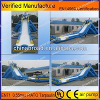Durable water slide,tidal wave water slide for adult and kids