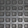 8mm Thickness Small square Cow mat Bubble top Pattern Mats in Soft Grade Material
