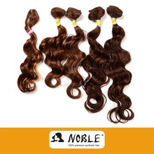 Rebecca wholesale natural synthetic hair extension weaving--GOLD S-EXOTIC CURL 5PCS(HRW1307-S806A 5PCS)