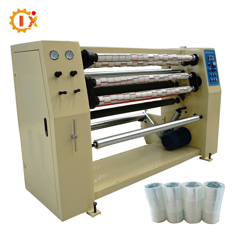 GL-1300 Two tons tapes making per day BOPP self adhesive tape slitting machine