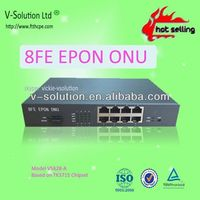 Strong R&D ablity Compatible with ALU 8FE SFP EPON Ethernet Switch