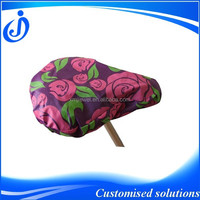 Fashion Flower Printing Designer Bike Saddle Cover