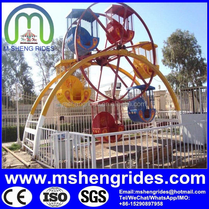China No. 1 direct factory manufacturer cheap musical ferris wheel for sale
