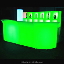 led <strong>bar</strong> counter rechargeable illuminated led acrylic <strong>bar</strong> counter pop up <strong>bar</strong> counter