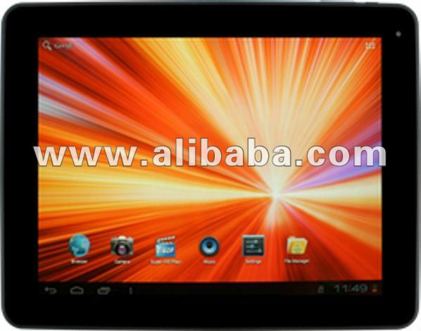 9.7'' IPS MULTI TOUCH PAD WITH ANDROID 4.0 (F931B2-3G)